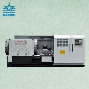 High Speed CNC Pipe Thread Cutting Lathe Qk1343 pictures & photos