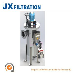 Full Automatic Scraper Filter for Liquid Filtering pictures & photos