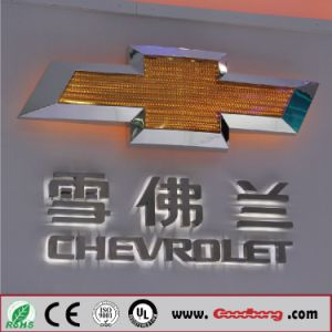 Vacuum Acrylic LED Backlit Car Logo and Their Names pictures & photos