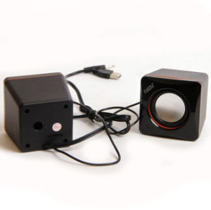 Home Use Portable USB 2.0 Speaker with Logo Brand Printed (6030) pictures & photos