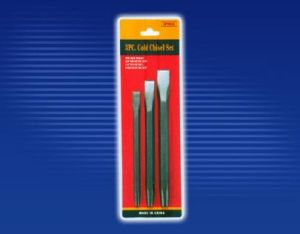 Hot Sale Cold Chisel, 3PC Punch & Chisel Set