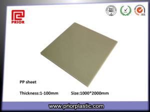 Pure Polypropylene PP Sheets with Grey Color pictures & photos