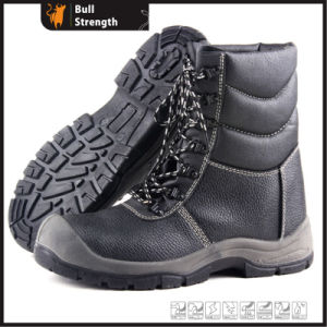 Winter Leather Safety Boots with High Cutting Upper (Sn5341) pictures & photos
