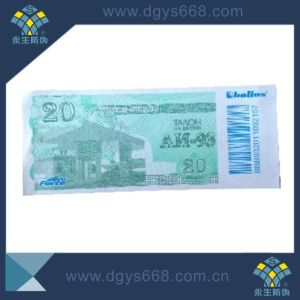 Hot Selling Security Fiber Paper Ticket Printing pictures & photos