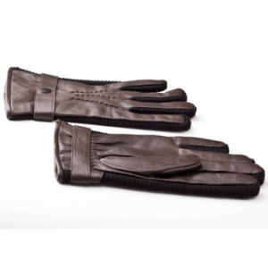 Men′s Fashion Sheepskin Leather Motorcycle Driving Gloves (YKY5180) pictures & photos