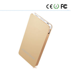 Ultra-Thin Mobile Power Polymer 12000 mAh Metal Shell pictures & photos