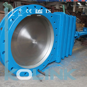 Knife Gate Valve Bolted Bonnet for Larger Size