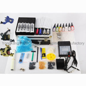 Long Life Tattoo Kit 3 Guns Type Tattoo Machine Power Supply pictures & photos