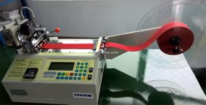 Automatic Satin Tape Cutting Machine Hot Knife pictures & photos