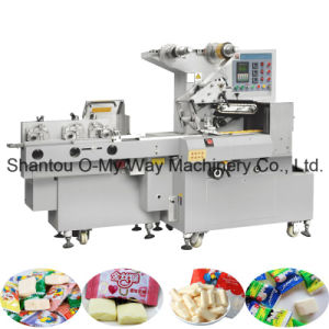 Soft Milk Candy Cutting and Wrapping Pillow Machine pictures & photos