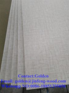 Special Grain Like Cloth Melamine MDF pictures & photos