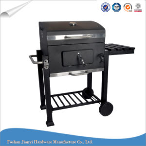 Charcoal Trolley Heavy Duty BBQ Grill Smoker