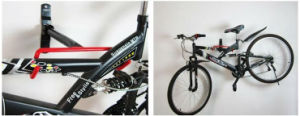 Black Coated Metal Wall Bike Hangers pictures & photos