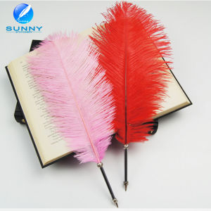 Classical Feather Ballpoint Pen Wholesale Metal Feather Quill Pen pictures & photos