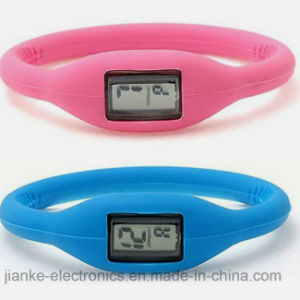 Branded Digital Sport Silicone Watch for Promotion (4008) pictures & photos