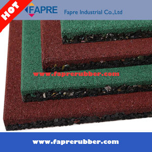 Outdoor Rubber Flooring/Recyled Playground Area Rubber Tile pictures & photos