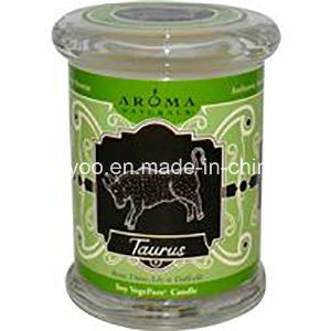 Clear Jar High Quality 2016 Candle Aroma with Lid