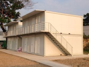 Sandwich Panel Steel Structure Container House pictures & photos