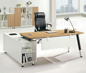 china modern wood executive office computer table furniture design sz