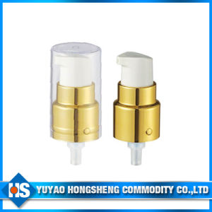 Hy-Fb01 Gold Cosmetic Metal Lotion Pump with PP pictures & photos