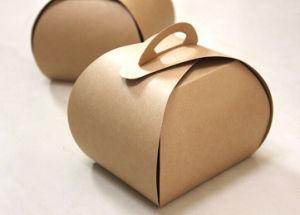 Brown Folding Kraft Paper Box/Cake Box/Cupcake Box