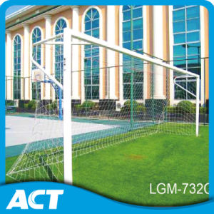 Fixed Position Aluminum Adult Soccer Goals - 8′ X 24′ with Net Hook pictures & photos
