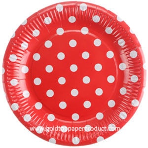 Disposable Dinner Paper Plate Tableware pictures & photos