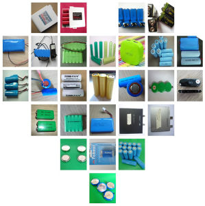 High Quality 3.7V 2400mAh Lithium Ion 18650 Battery pictures & photos
