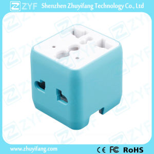 Multicolor Universal Travel Plug Adapter with Logo (ZYF9021) pictures & photos