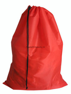 Cheap Price Polyester Laundry Drawstring Bag pictures & photos