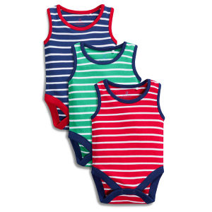 Soft Cotton Fabric High Quality Tank Top Baby Clothes pictures & photos