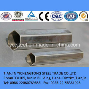 Galvanized Special Section Steel Tube for Transport and Construction Field pictures & photos