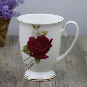 Flower Design Fine Bone China Couples Coffee Cup Classical European Porcelain Cup pictures & photos