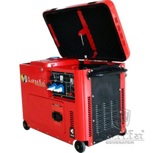 6.5kw Kama Type Single Phase Super Silent Portable Diesel Generator pictures & photos