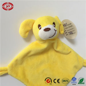 Infant Yellow High Quality Tiny Square Baby Care Blanket pictures & photos