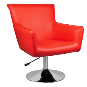 Red Color PU Leather Dining Sofa Bar Chair with Armrest (FS-T6098) pictures & photos