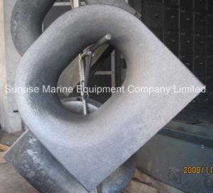 Marine Deck Equipment Panama Chock Deck Mount