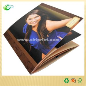 Commercial Brochure Printing with Film Lamination (CKT-BK-328)