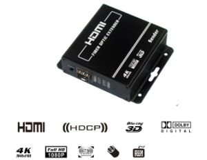 4k Uhd HDMI Fiber Optic Extender Supports 4k (UHD) and Resolutions up to 4096X2160 / 30p (2200) pictures & photos