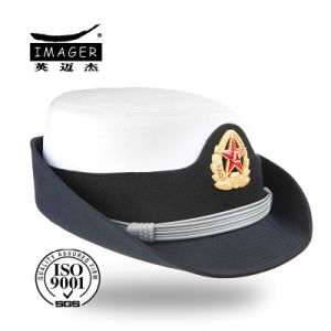 Hot Selling Bucket Cap with Metal Badge pictures & photos
