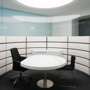 Simple Design White Stone Office Conference Table pictures & photos