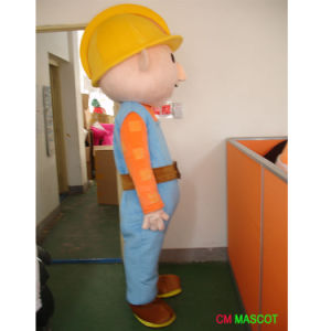 Bob The Builder Mascot Cartoon Character Costume Supply pictures & photos