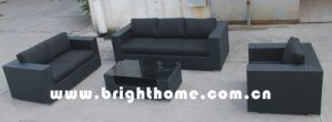 Best Sell Outdoor Wicker Furniture Patio Sofa Set Bp-830 pictures & photos