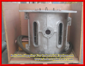 Aluminum Melting Electric Coreless Medium Frequency Induction Furnace/Stove/Oven pictures & photos