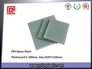 Light Green Glassfiber Sheet with PE Film on Both Sides pictures & photos