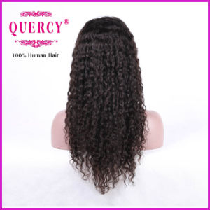 Hot Selling! ! Long Fashion Curly Brazilian Virgin Human Hair Front Lace Wig for African Americans pictures & photos