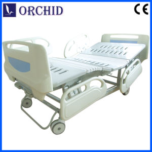 Two Functions Hospital Manual Bed with Soft Join (BCS08-III)