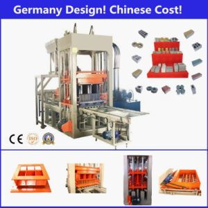 Complete Production Line Cement Block Molding/ Making Machine with Siemens PLC Control pictures & photos