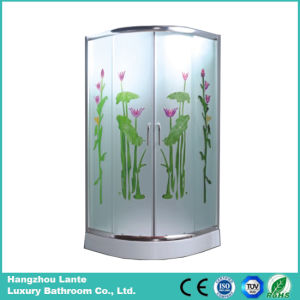 Corner Tempered Glass Simple Shower Room (LTS-825E) pictures & photos