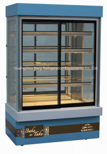 Upright/Vertical Glass Display Fridge for Cake pictures & photos